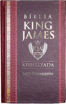 Bíblia Sagrada Letra Hipergigante - King James 1611 - Capa Dura  Bordô e Preta - Cpp