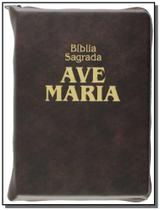 Biblia sagrada - media com ziper - Ave maria