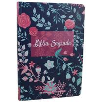 Bíblia sagrada naa capa dura nova almeida atualizada sbb - Editora Sbb
