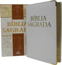 Bíblia Sagrada Nova Tradução na Linguagem de Hoje Branca Luxo - Paulinas -