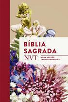 Biblia sagrada nvt - buque - letra normal e flexivel - Mundo cristao