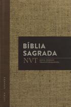 Bíblia Sagrada NVT Letra Grande Capa Dura - Mundo Cristão