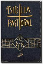 Biblia sagrada pastoral media ziper jeans - Paulus -