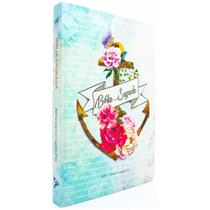 Bíblia Sagrada Slim - ACF - Ancora Flor - Ebenezer -