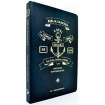 Bíblia Sagrada Slim - ACF - Ancora Preta - Ebenezer -