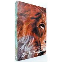 Bíblia Sagrada Slim - ACF - Leão Marrom - Ebenezer