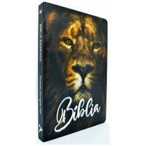 Bíblia Sagrada Slim - ACF - Leão Preto - Ebenezer -