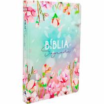 Bíblia Sagrada Slim Flores - NVI - Art Gospel