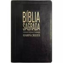 Bíblia Sagrada Slim - Harpa Cristã - Preta Nobre - Sbb