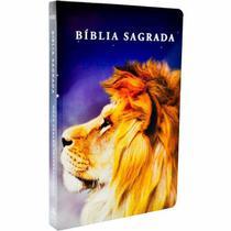Bíblia Sagrada Slim Leão Color - NVI - Art Gospel