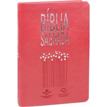 Bíblia Sagrada Slim - NAA - Pêssego - Sbb