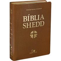 Bíblia Shedd - Convertex Marrom - Vida Nova