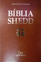 Bíblia Shedd - Luxo - covertex marrom - VIDA NOVA