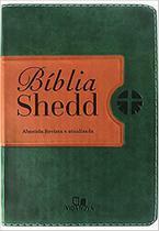 Biblia Shedd - verde e marrom - VIDA NOVA -