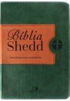 Bíblia Shedd - Verde e Marrom - Vida Nova