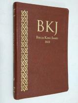 Biblia Slim King James Texto Fiel 1611 Ultra Fina Marrom - We