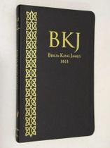 Biblia Slim King James Texto Fiel 1611 Ultra Fina - Preta - We