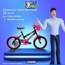 Bic aro16 com cesta fem. c-high cairu - 319368 -