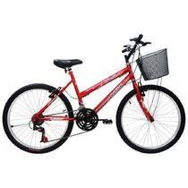 Bic aro26 21m. fem. com cesta f.fio bella cairu - 310750 -