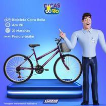 Bic aro26 21m. fem. com cesta f.fio bella cairu - 310920 -  / 2 -