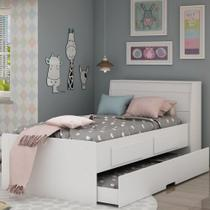 Bicama Infantil com Baú 2 Gavetas Flex Color Teen Gelius -