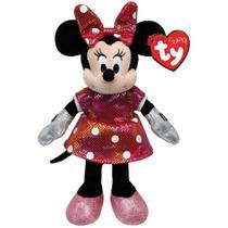 Bicho De Pelucia Minnie Mouse Ty Beanie Babies Dtc -