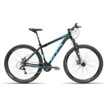 Bicicleta 29 GTA NX11 24V Index Freio Disco Susp. Preto com Azul 17 -
