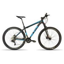 Bicicleta 29 GTA NX11 27V F. Hidraulico Susp. c/ Trava Preto com Azul 19 -