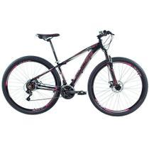 Bicicleta 29 Vision GT X2 PRETO/PINK Tamanho 17 - Ducce