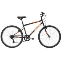 """Bicicleta Adulta Caloi Aro 26 Twister Easy, Freios V-brake, Oversize, Quadro de Aço de 18"""" e Preta -"""