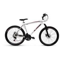 Bicicleta Alfameq Ecensse Aro 26 Freio À Disco 21 Marchas Branca -