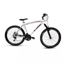 Bicicleta Alfameq Ecensse Aro 26 Freio Vbreak 21 Marchas Branca -