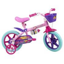 Bicicleta Aro 12 - Disney - Barbie - Rosa - Caloi -