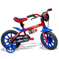 Bicicleta Aro 12 - Disney - Marvel - Spider-Man - Azul - Caloi -