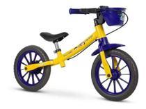 Bicicleta Aro 12 Infantil Equilibrio Nathor Sem Pedal Show da Luna -