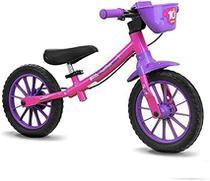 Bicicleta Aro 12 Infantil Equilibrio Nathor Sem Pedal -