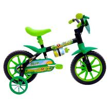 Bicicleta aro 12 masculina lion 121483 cairu / verde - Jbsystem