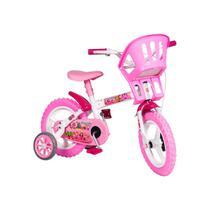 Bicicleta aro 12 princesinha styll kids -