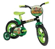 Bicicleta Aro 12 Turminha Guará com Rodinha - Verde -