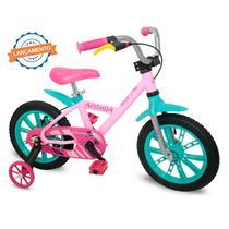 Bicicleta aro 14 First Pro Feminina Nathor -