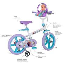 Bicicleta aro 14 frozen 2 - bandeirante - Brinquedos Bandeirante