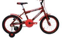 Bicicleta Aro 16 F.Fio Masc. Racer Kids Cairu 310018 Vermelho -