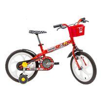 Bicicleta Aro 16 - Minnie - Disney - Vermelho - Caloi -