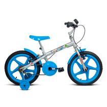 Bicicleta ARO 16 - Rock - Preta e Azul - Verden Bikes -