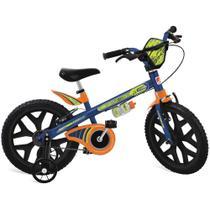 Bicicleta ARO 16 - Superbike - Azul - Bandeirante -
