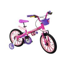 Bicicleta Aro 16 Top Girls 5 - Nathor