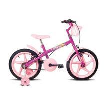 Bicicleta Aro 16 Verden Fofys Pink -
