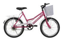 Bicicleta aro 20 athor nature feminina c/cesta -