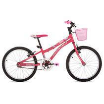 Bicicleta Aro 20 com Quadro em Aço Carbono Nina-Houston -
