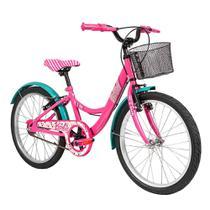 Bicicleta Aro 20 - Disney - Barbie - Rosa - Caloi -